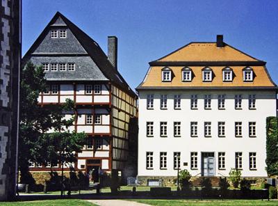 Museen In Hessen Oberhessisches Museum Leib Sches Haus Wallenfels